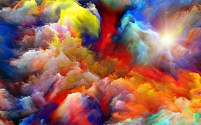 Wallpaper colors, sky, background, abstact, color explosion