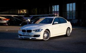Picture BMW, White, F30, Biturbo, Alpina