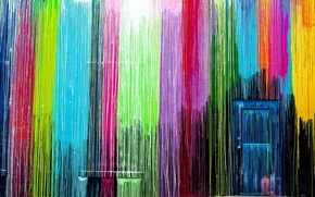 Picture wall, color, the door