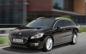 Picture black, Peugeot, riding, peugeot