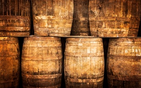 Picture whiskey, wood, barrel, winery