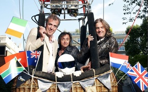 Wallpaper balloon, Jeremy Clarkson, Top Gear, flags, and, The Stig, the best TV show, top gear, ...