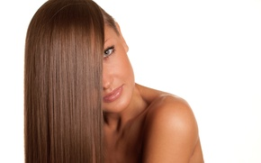 Picture woman, hair, look