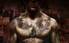Picture photo, badge, tattoo, scars, COP, cop, Sleeping Dogs, NeoGAF, Sleeping dogs