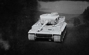 Wallpaper tiger, war, Germany, tank