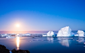 Picture Summer, Antarctica, Iceberg