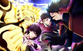 Picture battlefield, sword, game, anime, katana, sharingan, asian, manga, Uchiha Sasuke, japanese, Naruto Shippuden, Uzumaki Naruto, …