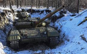 Picture tank, armor, Soviet, T-64