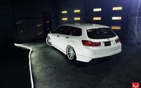 Picture Auto, Machine, Honda, drives, Auto, Vossen, Wheels, feed