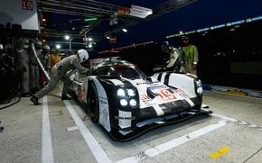 Picture Wallpaper, The car, LMP1, 24 Hours of Le Mans, Le Mans, WEC, 2015, Nico Hulkenberg, …
