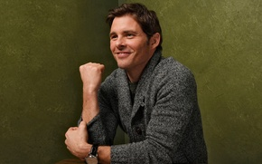 Picture photoshoot, James Marsden, James Marsden, Sundance, for the film, D-Train, The road to Hollywood