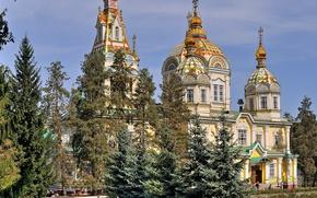 Wallpaper Park, Church, Kazakhstan