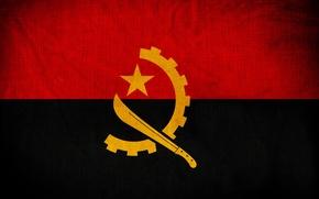 Picture Flag, Photoshop, Angola, Angola