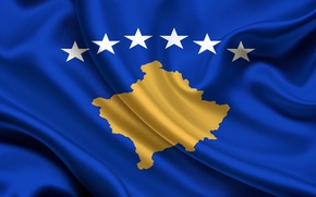 Picture Flag, Republic, Kosovo