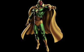 Picture marvel, comic, Vision, Victor Shade, Victor Shade, Vizhen, The Vision, Android robot