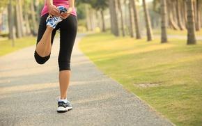 Wallpaper slippers, elongation, outdoor activity