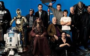Picture Star Wars, Star Wars, actors
