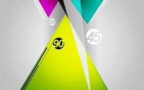 Picture angle, shape, graphic, degree, triangle, tri, 180
