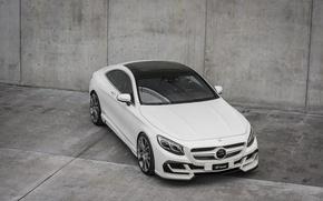 Picture Mercedes-Benz, grey background, Design, FAB, S-Class, Ethon