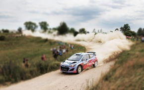 Picture Auto, Dust, Sport, Machine, Skid, Day, WRC, Rally, Rally, i20, Hyundau