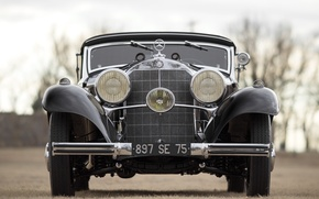 Picture car, classic, Mercedes Benz, cars, classic, Cabriolet, 540K