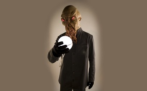 Picture background, ball, alien, alien, sphere, Doctor Who, Doctor Who, Ood