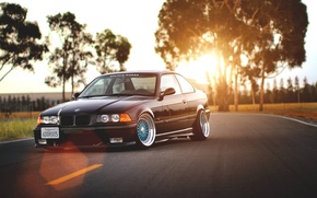 Picture BMW, drives, Coupe, BBS, E36