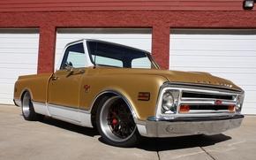Picture Chevrolet, Truck, 1968, Wheels, C10, Concave