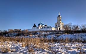 Picture the monastery, Orthodoxy, Serpukhov