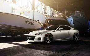 Picture coupe, Subaru, sports car, Subaru, brz, quick, vossen wheels