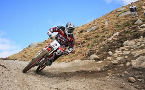 Picture speed, downhill, mtb, Cycling