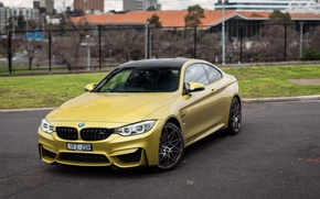 Wallpaper lights, the hood, the front, auto, Competition Package, Coupe, M4, BMW