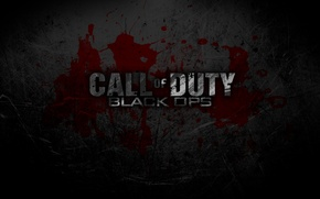 Wallpaper cod, blood, black ops, call of duty