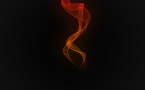 Picture void, heat, background, flame, black