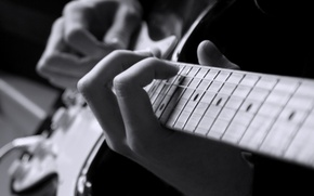 Picture music, people, Electric guitar