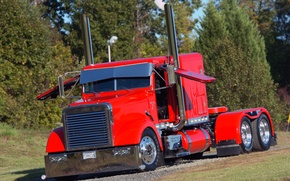 Picture custom, classic, truck, freightliner, big rig