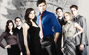 Picture Tom Welling, Smallville, Erica Durance, Allison Mack, Smallville