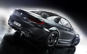 Picture BMW, Car, Black, Prior Design, Wheels, Rear