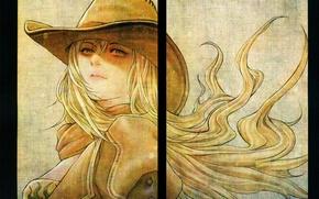 Picture look, hat, blonde, art, RWBY, Yang Xiao Long, Hiroyuki Wand