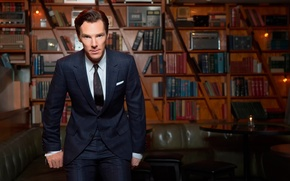Picture photoshoot, Benedict Cumberbatch, The Hollywood Reporter, September 2013