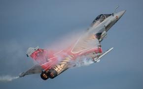 "Wallpaper fighter, multipurpose, Dassault Rafale, ""Rafale"""