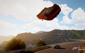 Picture flight, Ferrari, epic, Forza horizon
