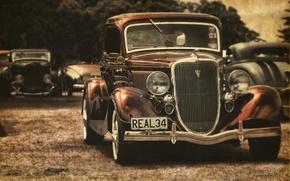 Picture retro, car, vintage, hotrod