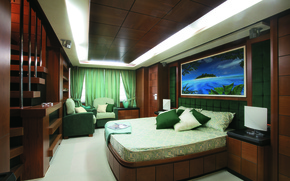 Picture design, style, interior, yacht, Suite, cabin