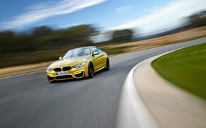 Picture BMW, Car, Coupe, Yellow, Supercar
