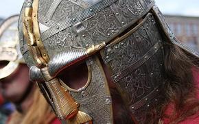 Picture metal, patterns, armor, helmet