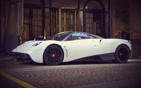 Picture Pagani, Supercar, Supercar, Pagani, To huayr, Wire