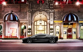 Picture city, lights, concept, aston martin, dbs