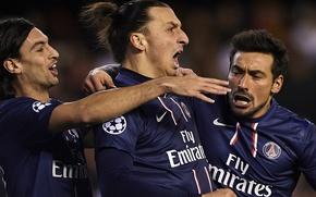 Picture Football, Paris, Sweden, Football, Player, Player, PSG, PSG, Paris Saint-Germain, Zlatan Ibrahimovic, Zlatan Ibrahimovic, Pastore, …