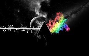 Picture black, color, prism